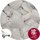 Aspen - White Crystal - Large - Click & Collect